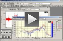 SpectraPLUS - Home Page : Acoustics and Vibration : FFT Spectrum